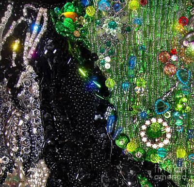Bead Embroidery, Sample Beadwork Art Print