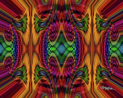 Digital Art - Bead Morph Magical Box Of Joy #128 by Barbara Tristan