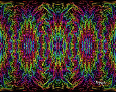 Digital Art - Bead Morphs #119 by Barbara Tristan