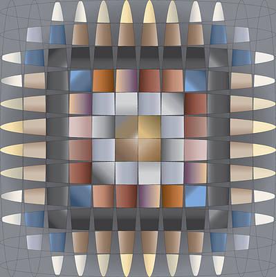 Digital Art - Bead Tone Quilt by Kevin McLaughlin