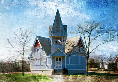 Photograph - Beadle Memorial Presbyterian Church - Remastered by Carlos Diaz