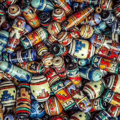 Photograph - Beads by Alexey Stiop