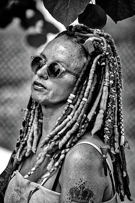 Photograph - Beads And Dreadlocks by John Haldane