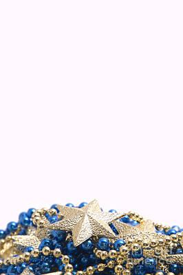 Beads And Stars Pt Art Print