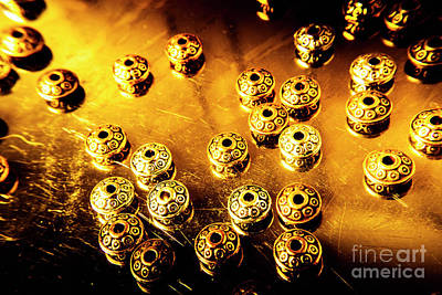 Metal Art Photograph - Beads From Another Universe by Jorgo Photography - Wall Art Gallery