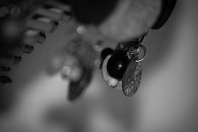 Photograph - Beads In Black And White by Ester Rogers
