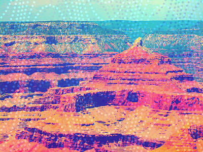 Mixed Media - Beads Of The Grand Canyon by Michelle Dallocchio