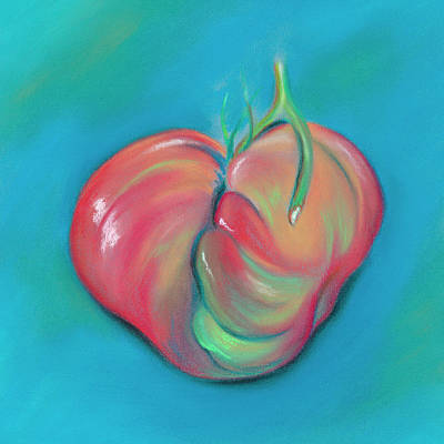 Pastel - Beafsteak Tomato Love by MM Anderson