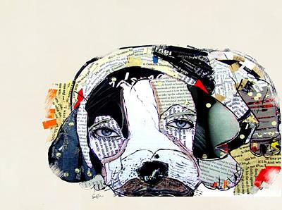 Beagle Wall Art - Painting - Beagle  by Bri Buckley