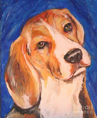Painting - Beagle Charm by Debora Cardaci