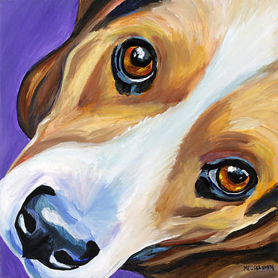 Beagle Dog Painting - Beagle by Melissa Smith