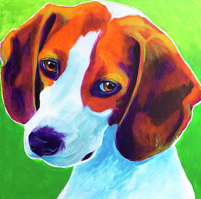 Painting - Beagle - Watson by Alicia VanNoy Call