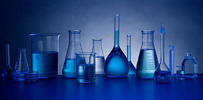Life Size Photograph - Beakers by John Wong