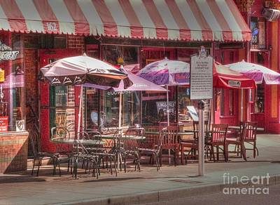 Photograph - Beale Street Cafe by David Bearden