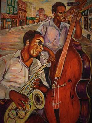 Painting - Beale Street by Emery Franklin