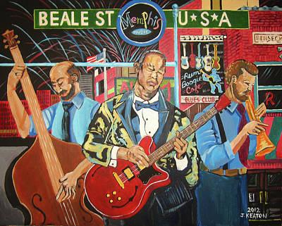 Beale Street Art Print by John Keaton