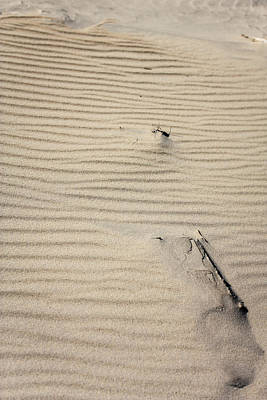 Photograph - Beam In The Sand 2 by Joni Eskridge