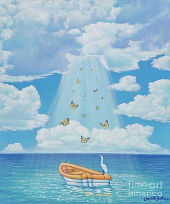 Painting - Beam Me Up by Elisabeth Sullivan