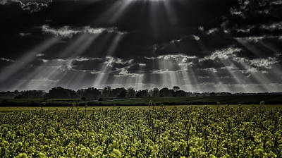 Awe Inspiring Photograph - Beam Me Up Scotty by Nigel Jones