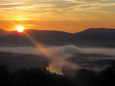 Beaming Shenandoah Art Print