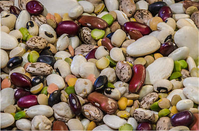 Photograph - Bean Soup - Tomorrow by Guy Whiteley