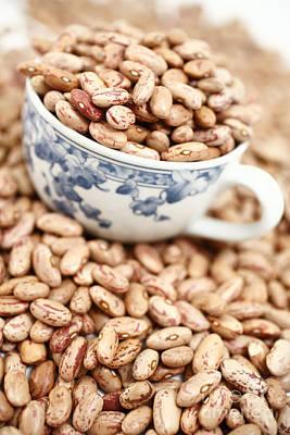 Beans In A Cup Art Print by Gaspar Avila