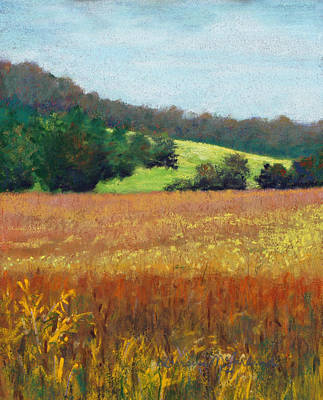 Pastel - Beans On The Bottom by Lorraine McFarland