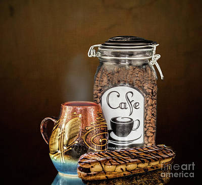 Photograph - Beans To Cup by Shirley Mangini