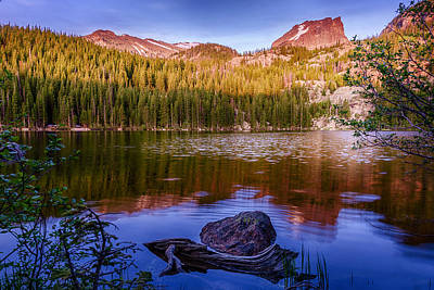 Photograph - Bear Lake 1 by Mary Angelini