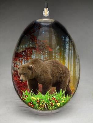 Bear Art Art Print by Marvin Blaine