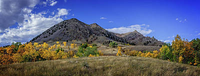 Photograph - Bear Butte Sturgis South Dakota Autumn Colors by Ray Van Gundy