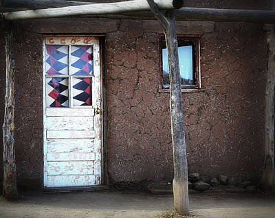 Photograph - Bear Claw Door by Nadalyn Larsen