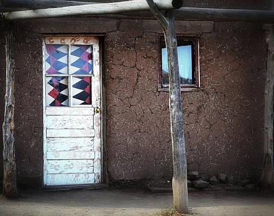 Photograph - Bear Claw Door by Nadalyn Larsen