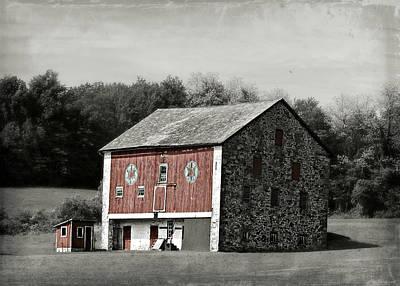 Photograph - Bear Creek Barn by Brenda Conrad