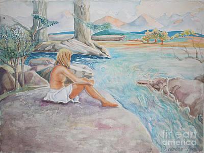 Bear Creek Art Print by Catherine Moore