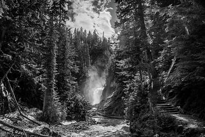 Photograph - Bear Creek Falls As Well by Monte Arnold