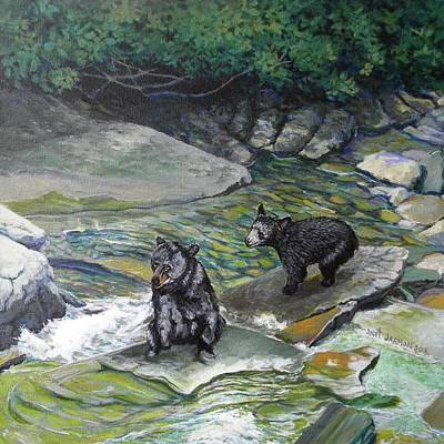 Painting - Bear Creek by Jeanette Jarmon