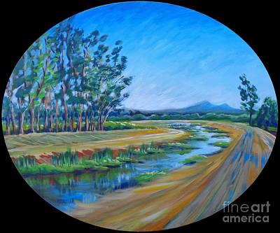 Bear Creek, Summertime Original by Vanessa Hadady BFA MA