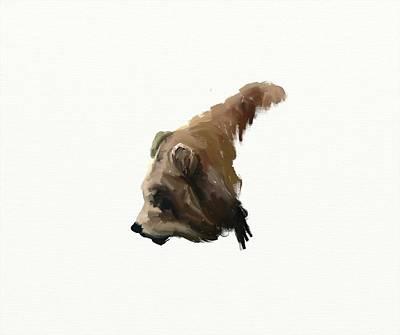 Digital Art - Bear by Crystal Hubbard