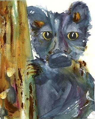 Painting - Bear Cub by Dawn Derman