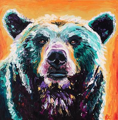 Bear Dreaming Original by Alana Clumeck