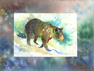 Painting - Bear I by Christie Martin