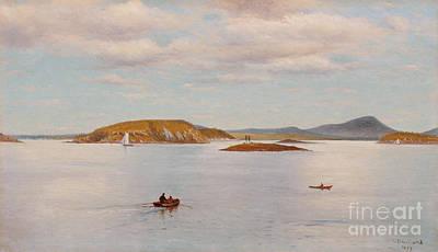 Bear Island Art Print