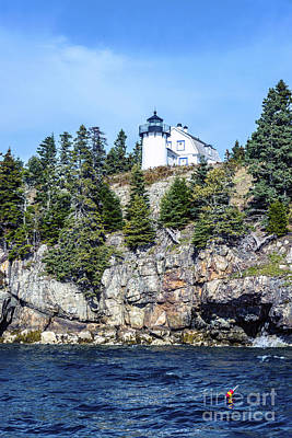 Photograph - Bear Island Lighthouse by Anthony Baatz