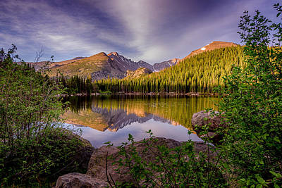 Photograph - Bear Lake 2 by Mary Angelini