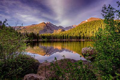 Photograph - Bear Lake 2 by Mary Angelini