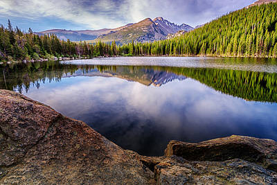 Photograph - Bear Lake 3 by Mary Angelini