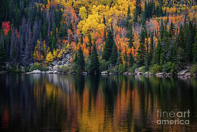 Photograph - Bear Lake Autumn by Jon Burch Photography