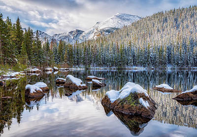 Photograph - Bear Lake Holiday by Darren White