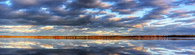 Chicago Photograph - Bear Lake Michigan At Sunrise by Twenty Two North Photography